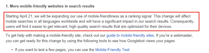 Is Your Website Google Mobile Friendly?
