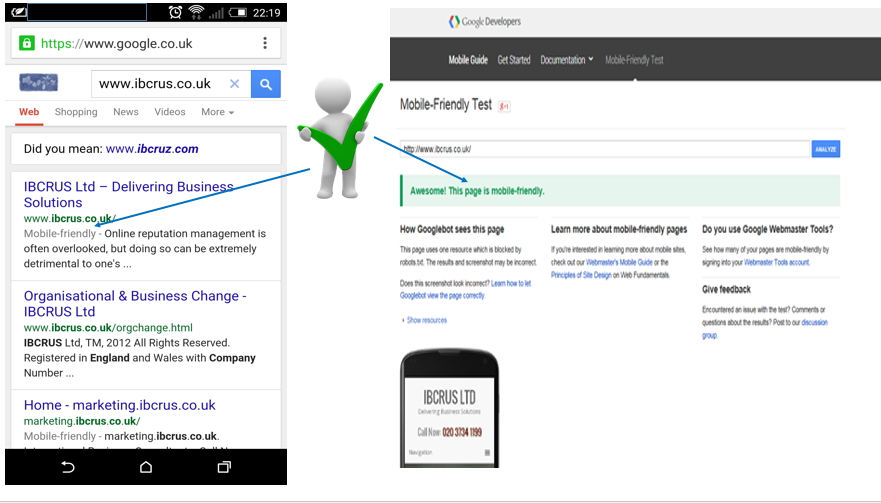 "Have You Checked To Verify That Your Website's ""Mobile Friendly""? If Not, Act Now."
